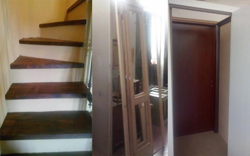 progettazione scale interne in legno
