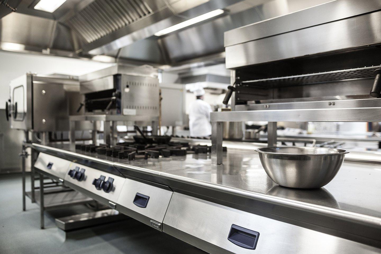 Piano cucina da ristorante
