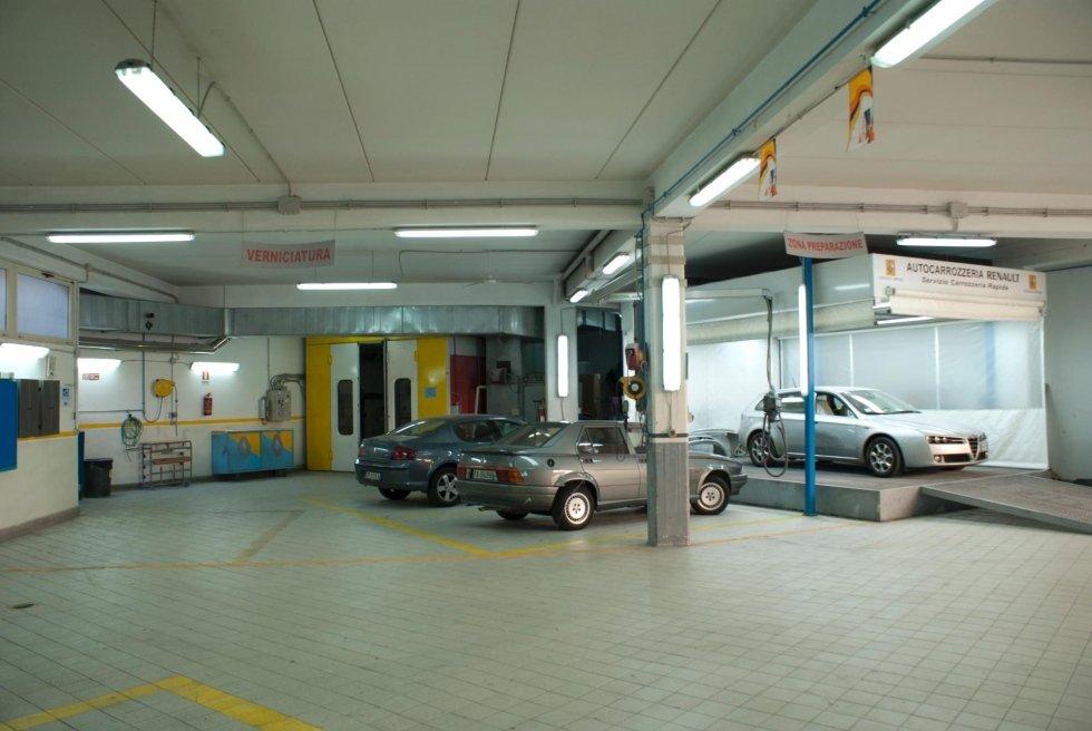 servizio carrozzeria convenzionata Renault