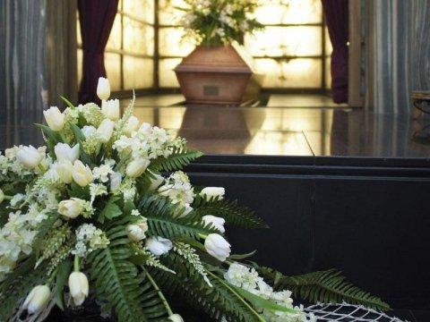 allestimento casa funeraria