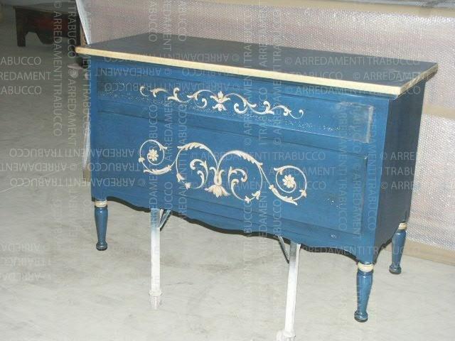 Mobile blu arte fiorentina
