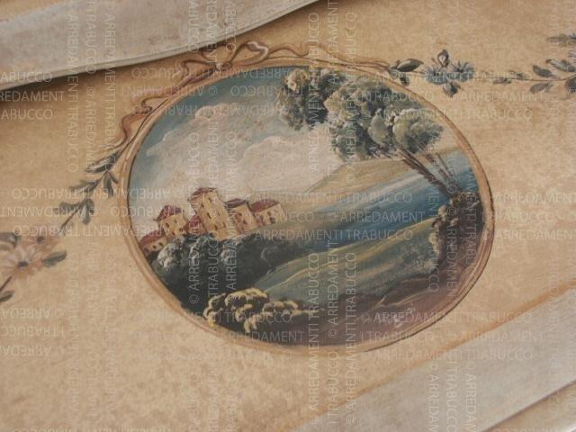 Particolare di una decorazione in arte fiorentina