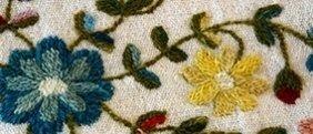 fibre di seta naturale