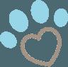 icona della zampa di un cane a Verona