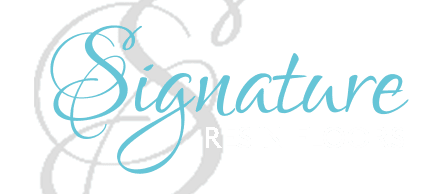 signature resin floors logo
