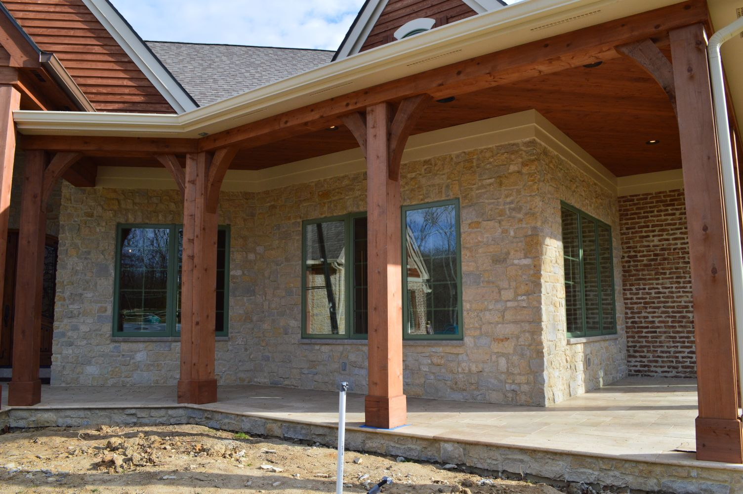 Natural Thin Cut Stone –front view