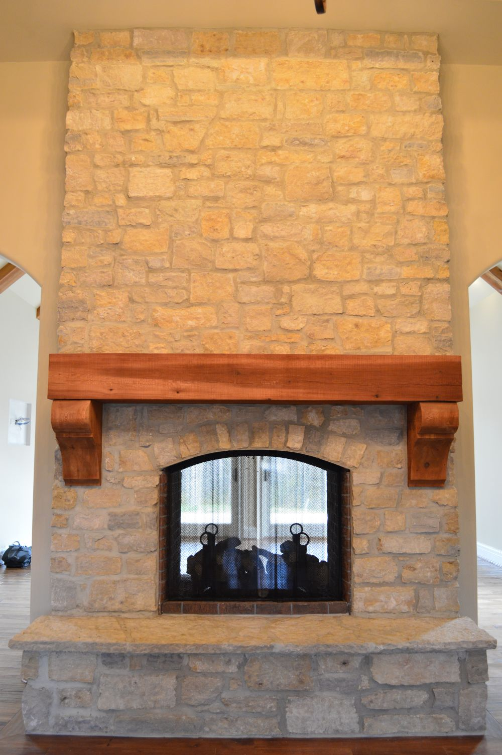 Natural Thin Cut Stone – after completion