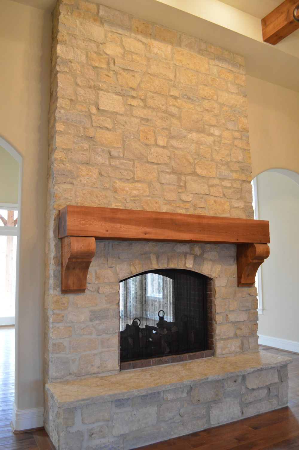 Natural Thin Cut Stone – completed work