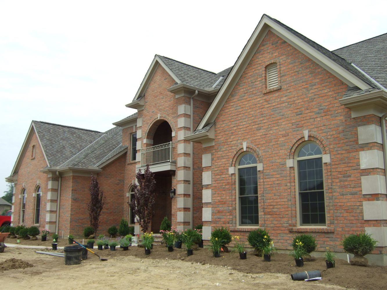 Bricks supplied by company –completed work