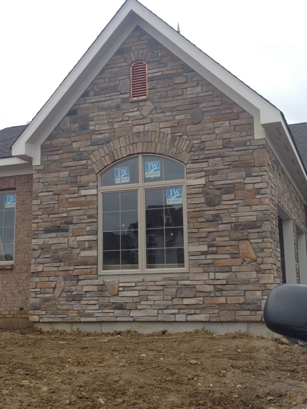 Cultured Stone – exterior view