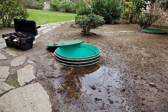 Sewage system backups