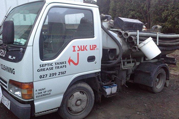 Liquid Waste Management truck