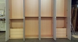 armadio quattro ante