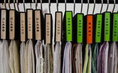 tessuti diversi colori