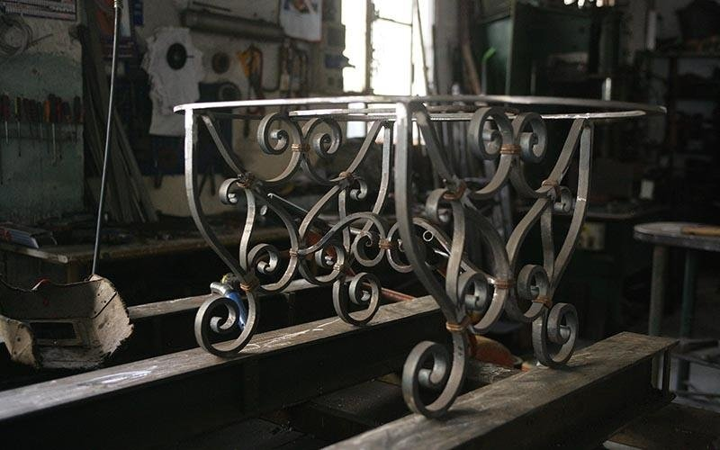 tavolini in ferro
