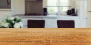 tavolo, legno, cucina