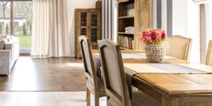 legno, tavolo, arredamento, casa