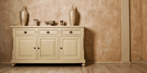 mobile, antico, artigianale, cassettiera