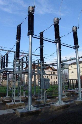 sottostazione elettricità
