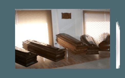 Cassa funebre in legno pregiato