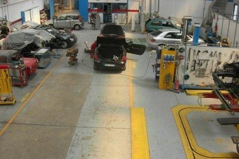 Officina per riparazioni auto