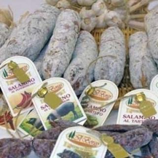 salumi aromatizzati al tartufo ed al Brunello