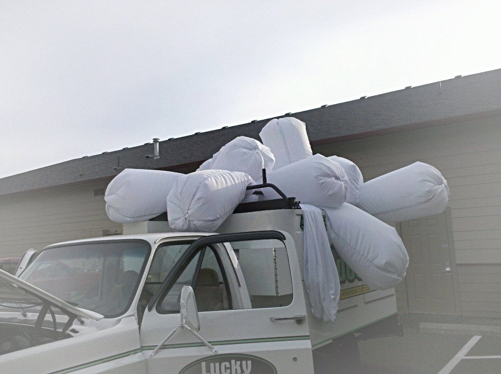 high powered truck mounted vacuum system