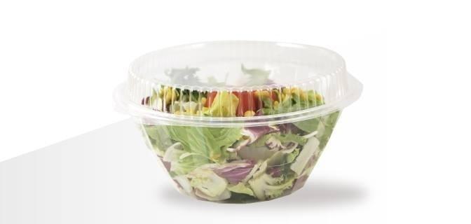 Porta-insalata in plastica
