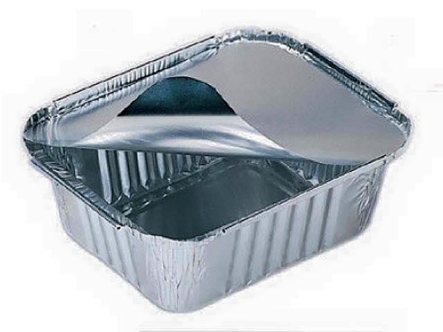 Vaschetta in alluminio