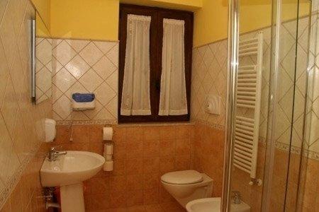 bagno in camera albergo
