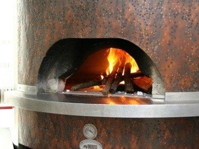 forno a legna pizza