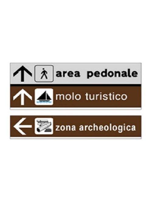 segnaletica direzionale e turistica