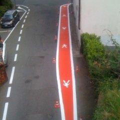 segnaletica orizzontale su misura a Varese