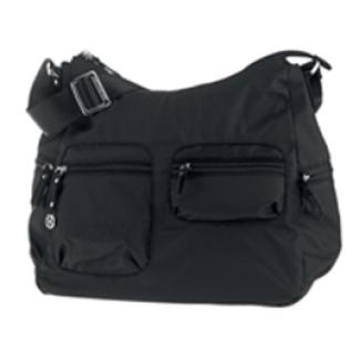 Shoulder Bag M + 1 pock Nero