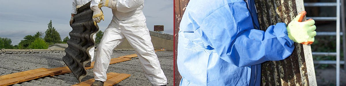 asbestos extraction and containment qld workers removing asbestos