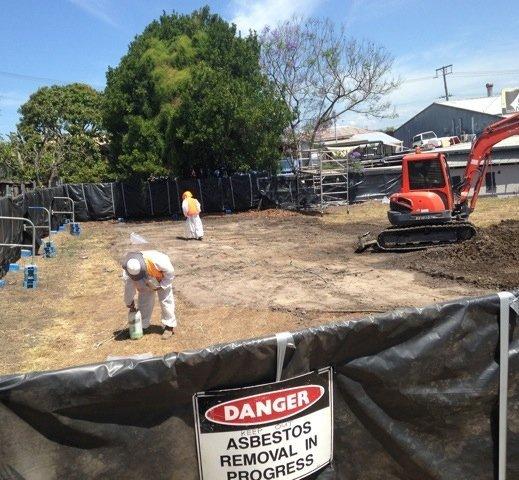 asbestos soil removal