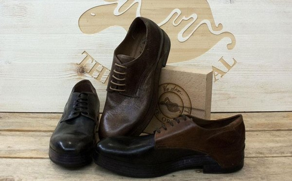 ART. FORMER D - CHOCOLATE - MIDNIGHT/GREY - BLACK/COGNAC