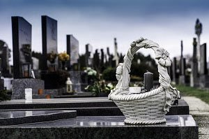 average cost of a funeral cemetery