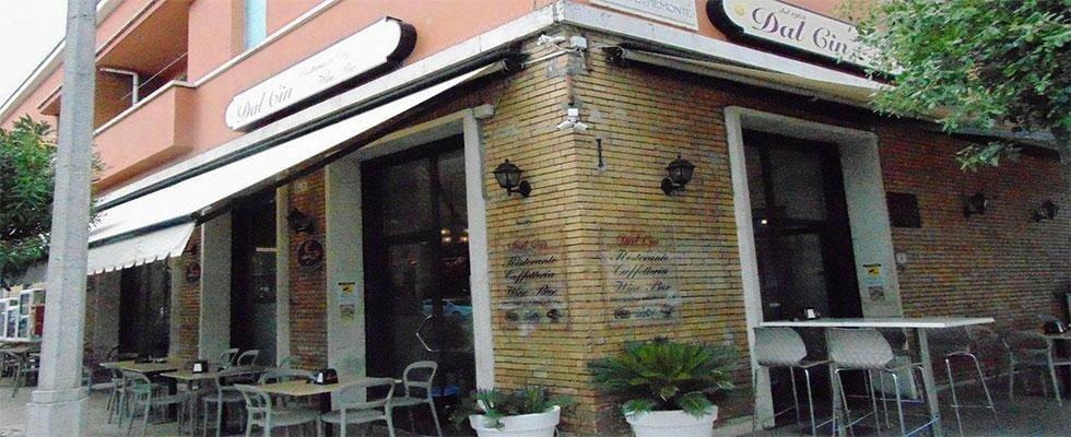 Dal Cin ristorante bar a Sabaudia