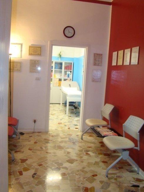 Sala attesa dello studio