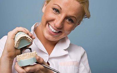 katoomba dental centre teeth model