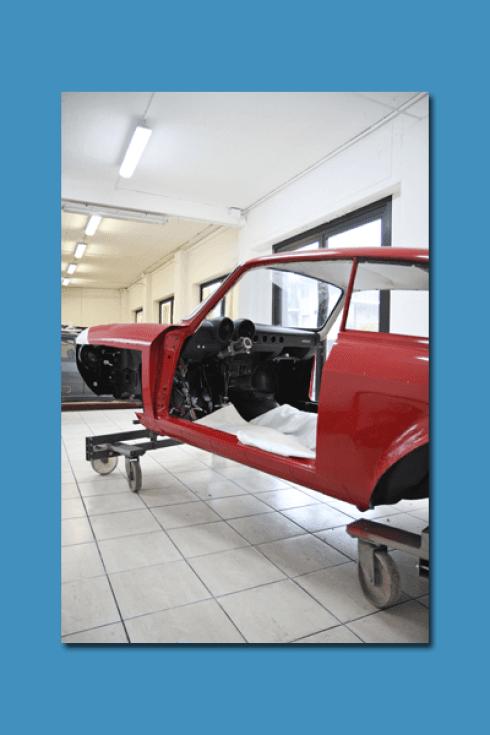 La Carrozzeria Pastore e Maceri riqualifica completamente il telaio della vostra vettura.