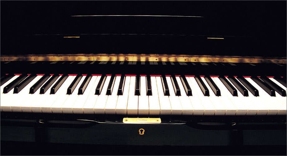 The keys of a Grand Piano