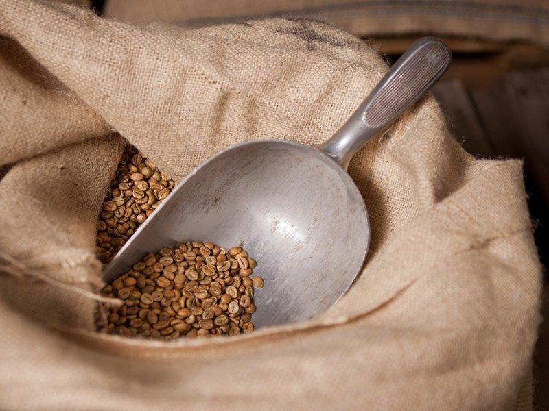Sacco grani caffè