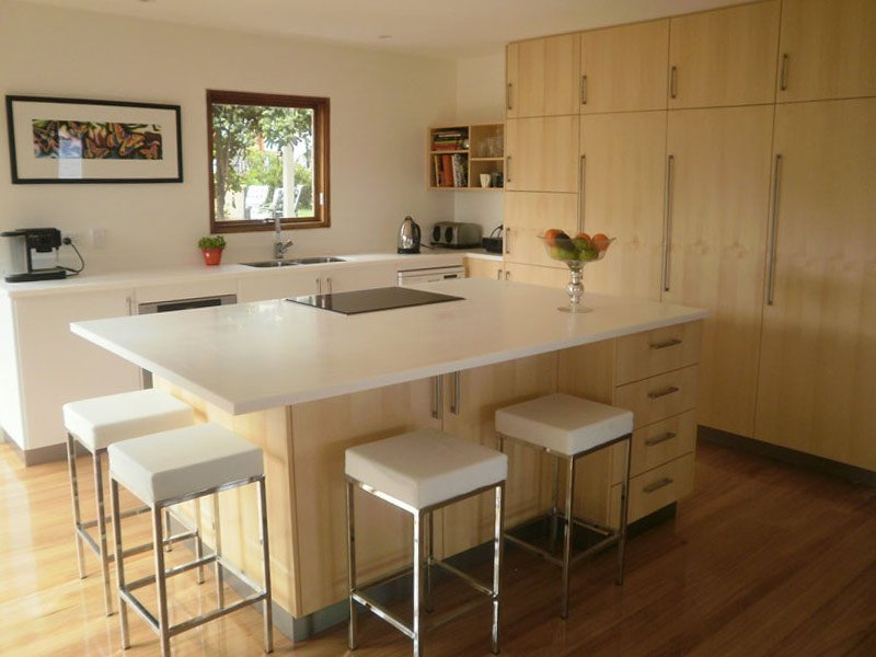 Kitchen designed by our joiners in Hobart
