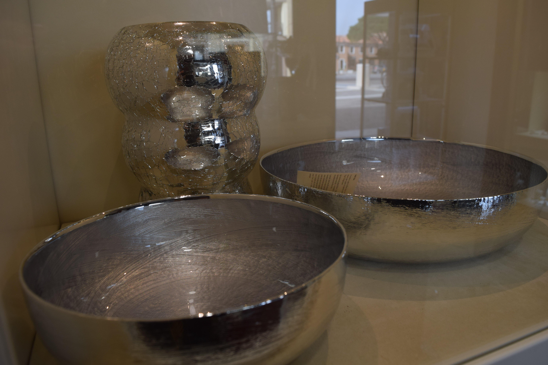 ciotole in argento per lista nozze