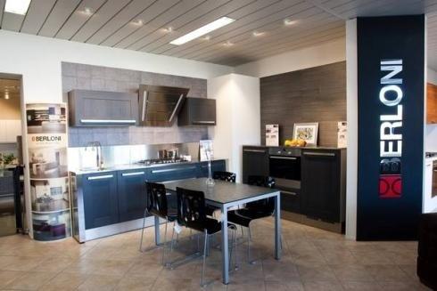 Cucina moderna rossa