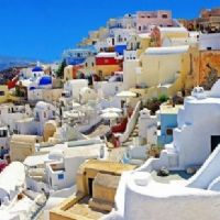 villaggio nel Mediterraneo