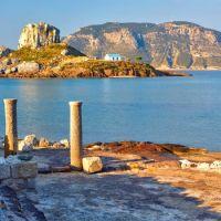 area archeologica sul mare