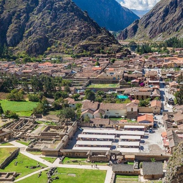 villaggio peruviano